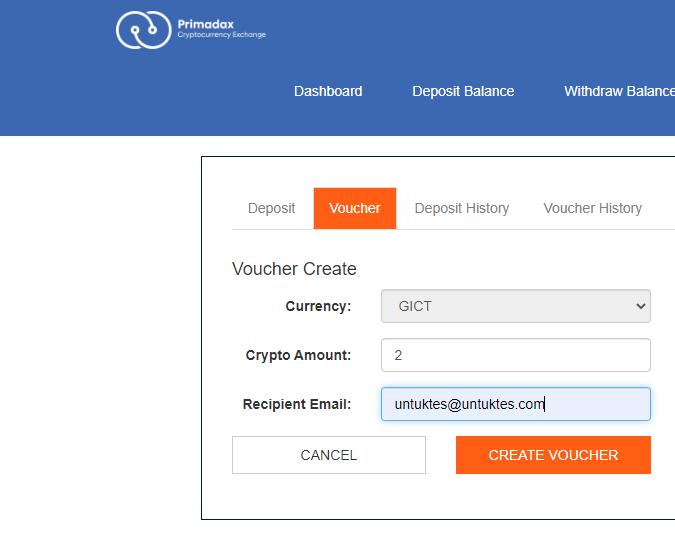 Form Create Voucher
