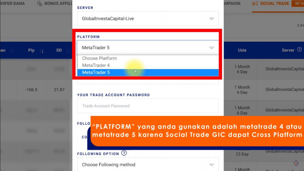 Memilih Platform MetaTrader 5